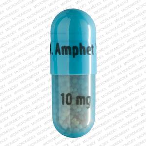 Imprint: M. Amphet Salts 10 mg