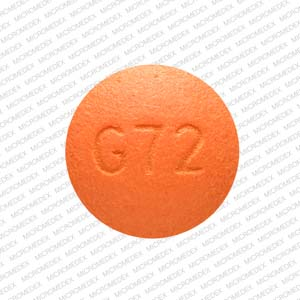10 MG. Color: Orange